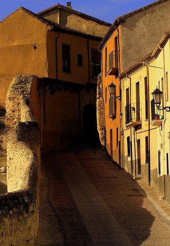 Nice narrow steepy street