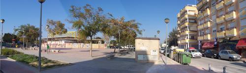Plaza junto a Zona Deportiva