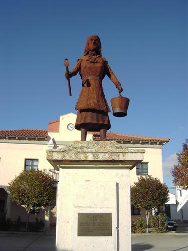 En recuerdo a OLIEGOS-  Foncastín - (Valladolid)