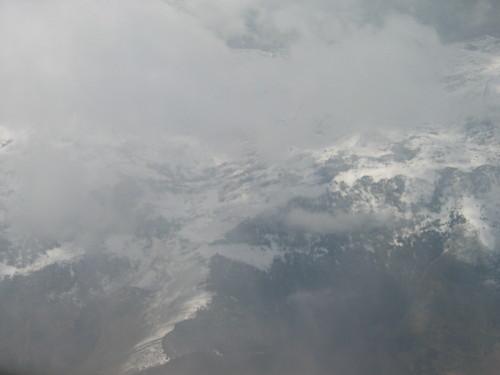 Cordillera Cantábrica desde el aire