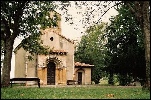 San Esteban de Sograndio, Oviedo.