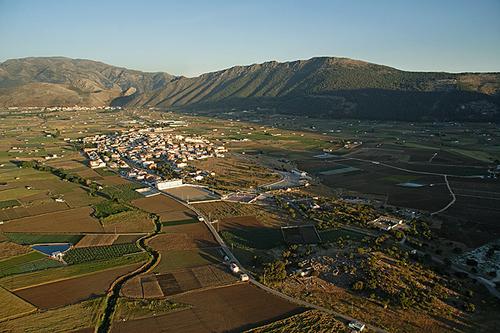 Zafarraya vista aerea