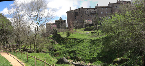 Santa Pau - Pont del Pessebre [29.03.2008]