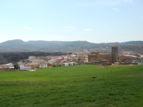Villar del Horno desde arriba