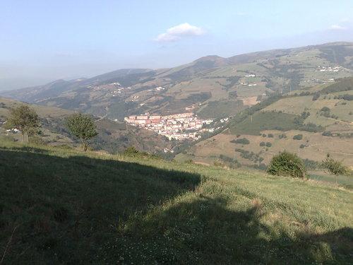 Foto de Cangas desde Adralés