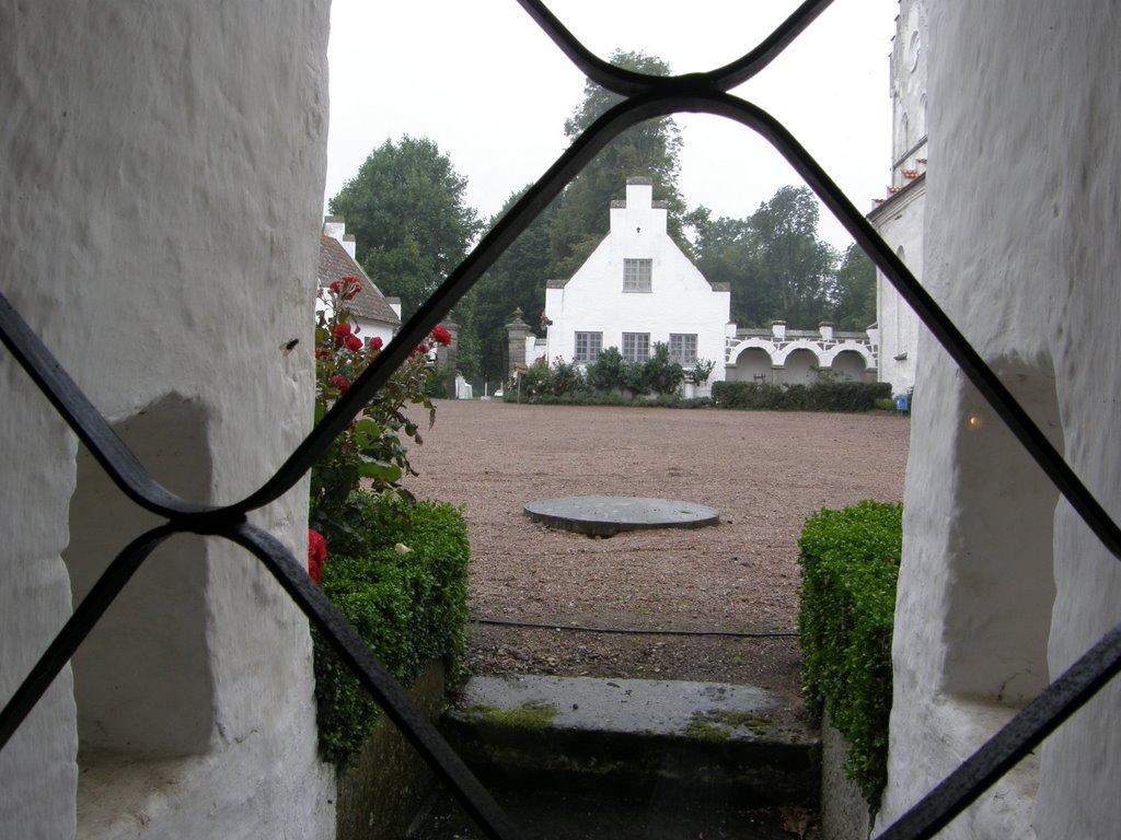 Bosjökloster building detail