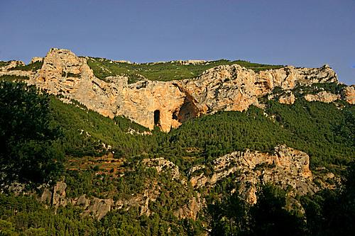 Vista de la Cueva de los Anguijones