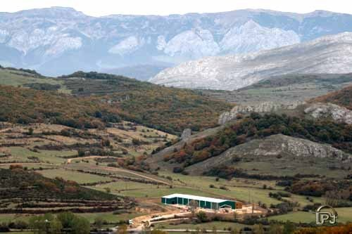 San Salvador de Cantamuda, embotelladora