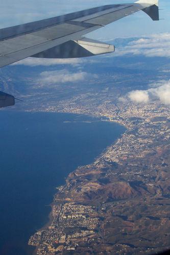 Malaga Approach (aerial)