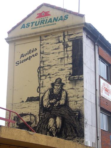 fachadas de Asturias