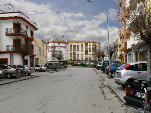 Ancha street, by Julio M. Merino