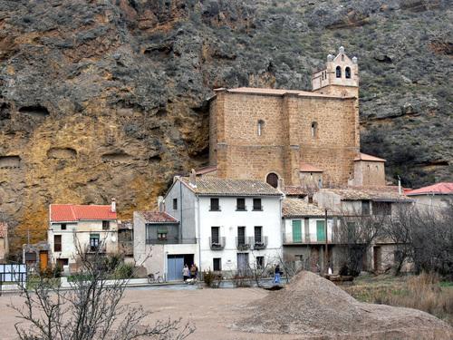 INESTRILLAS (Aldea de Aguilar del Río Alhama). 07. Iglesia de la Natividad (sXVI). 2008.