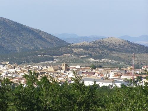 Panorámica-María (Almería)