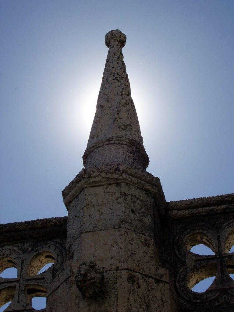 Torre de Belém - Coluna