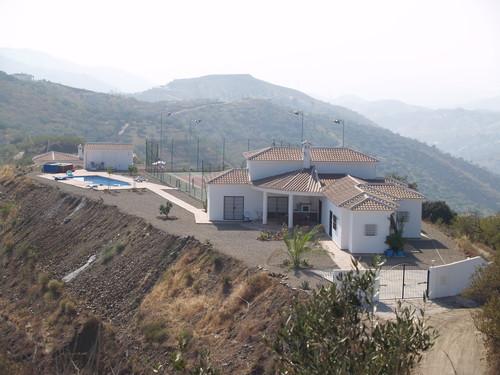 villa vanaf oosten