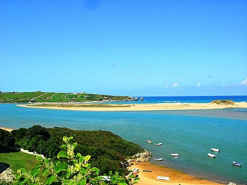 Playa de Liencres desde Mogro