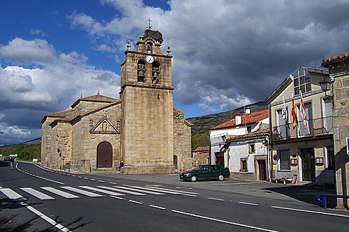 La Aldehuela (Iglesia y Ayuntamiento)