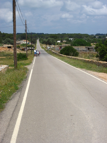 Road Formentera
