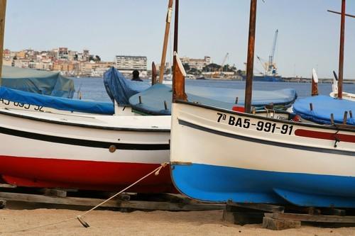 Sant Antoni de Calonge - Bateau sur la plage