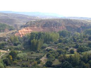 Vista de las huertas desde Santa Bárbara