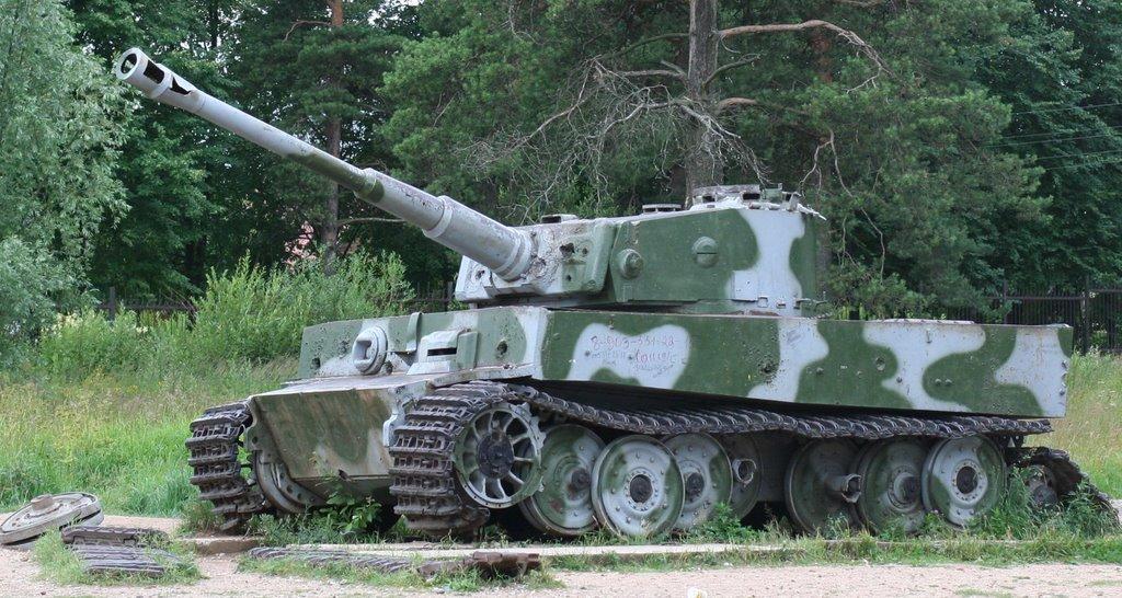 "PzVI H1 Танк ""Тигр"" у п. Снегири"