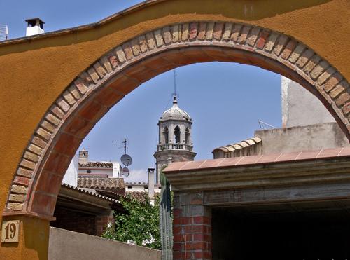Church tower, by Julio M. Merino