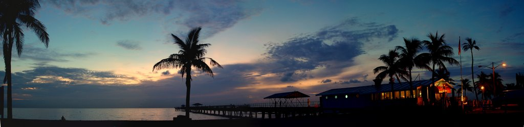 pier at sunrise l-b-t-s