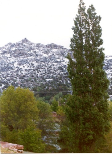 La Machota nevada en verano