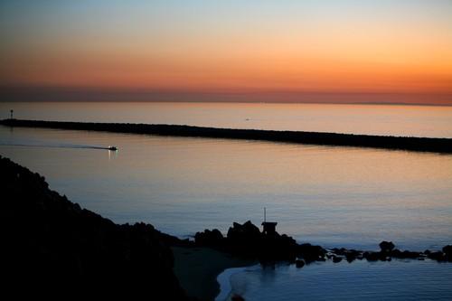 Corona Del Mar, Orange County, California - Jetty Sunset