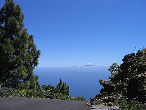 Blick von La Palma nach La Gomera