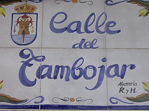 Calle Tambojar