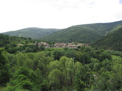 sul - Vistas pueblo - Valle Garcipollera - Villanovilla