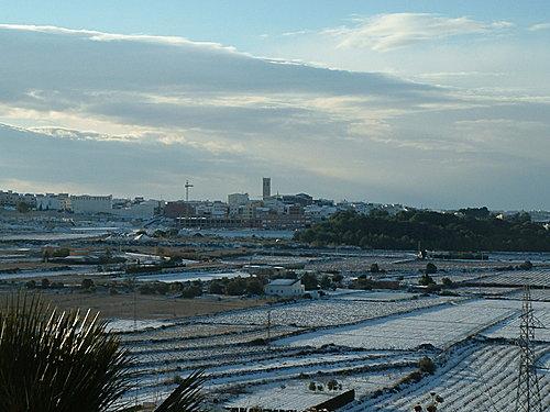 Teulada in snow 2005
