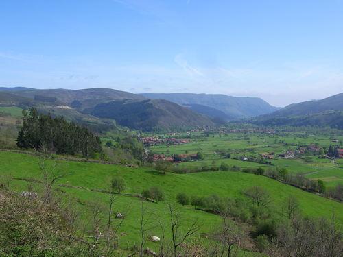 Valle de Cabuérniga, vista parcial