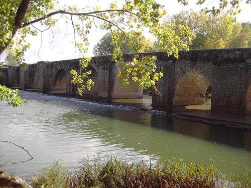Puente sobre el Rio Pisuerga- Tariego (Palencia)