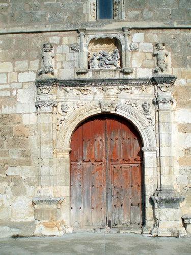 Frontispicio de la Iglesia