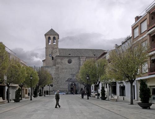 Del Pueblo square, by Julio M. Merino