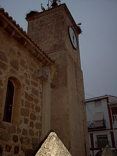 La torre de la Iglesia en Bohonal de Ibor