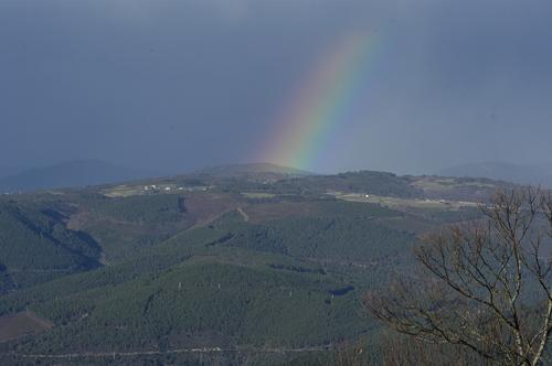 Vista de Vilachá dende Torbeo