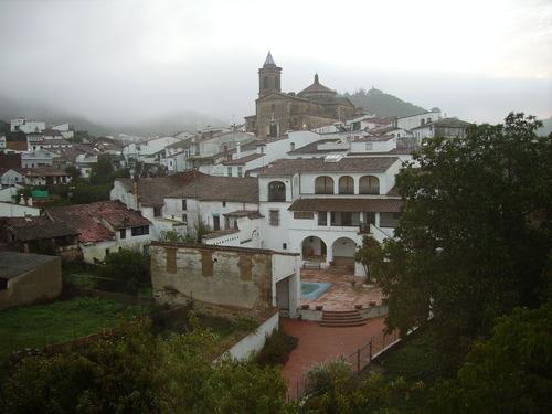 Galaroza, en sierra de Aracena