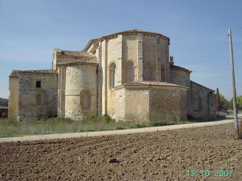 Abside de Sta.Mª de Palazuelos, siglo XIII- Corcos de Aguilarejo (Valladolid)
