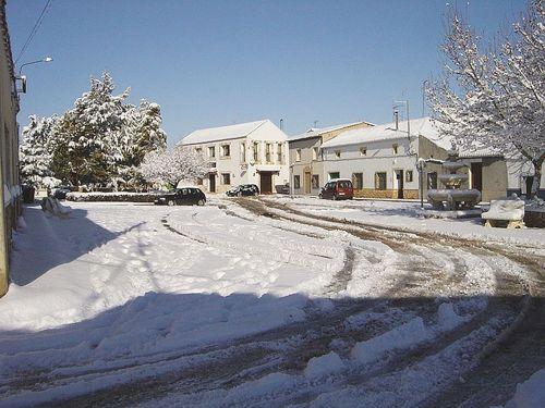 Plaza del Barrio nevada (28/01/2006)