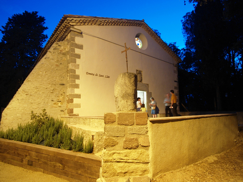 Ermita Sant Lleïr a Sant Antoni de Vilamajor, Vallès Oriental, Catalonia (juni 2007)