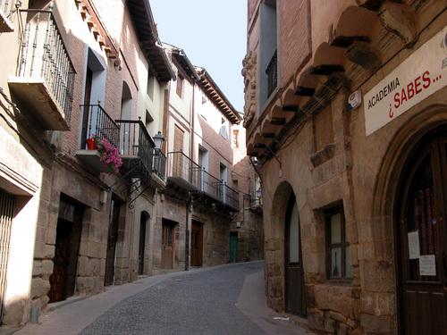 NAVARRETE-(Camino de Santiago). Arquitectura urbana.