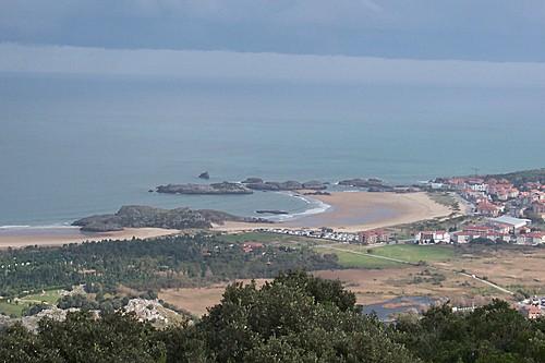 Playa de Ris desde el Cincho