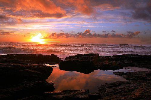 Lariño sunset