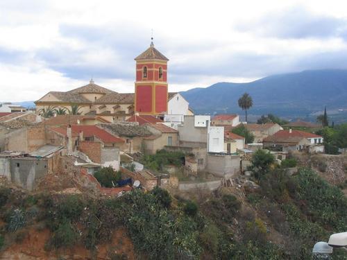 Iglesia de San Bartolomé sobre el río Orón, Librilla