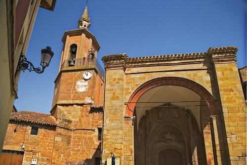 Sotés, the church