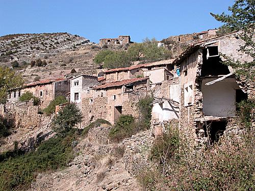 SAN MARTÍN (Aldea de Santa Engracia del Jubera-La Rioja). 2005. 07. Arquitectura rural.