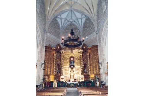 interior iglesia inmaculada concepción
